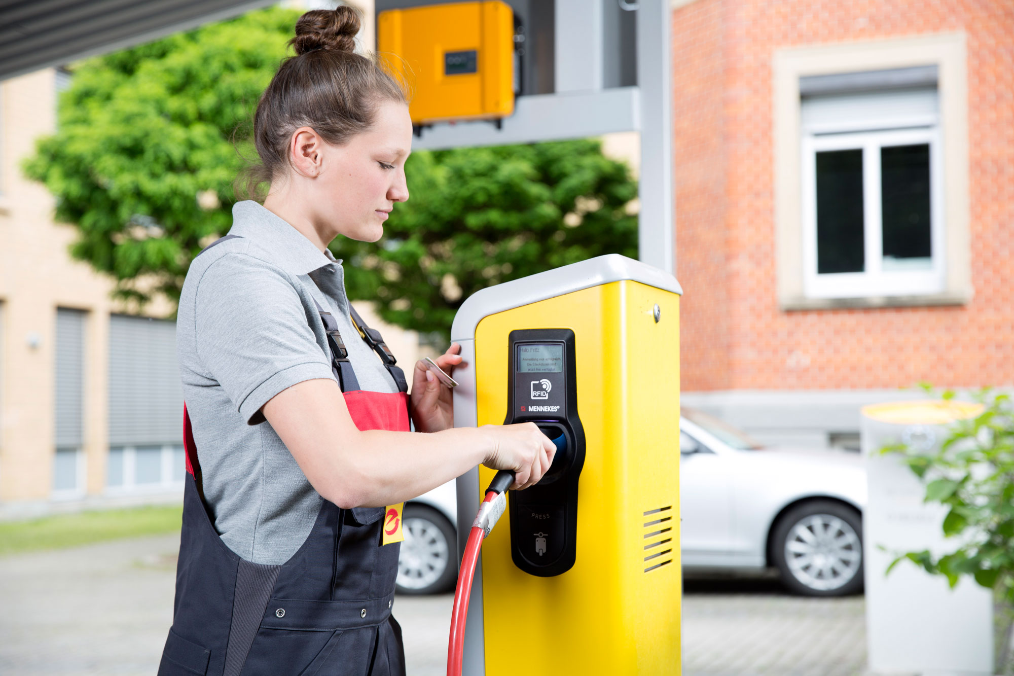 Elektro Tankstelle